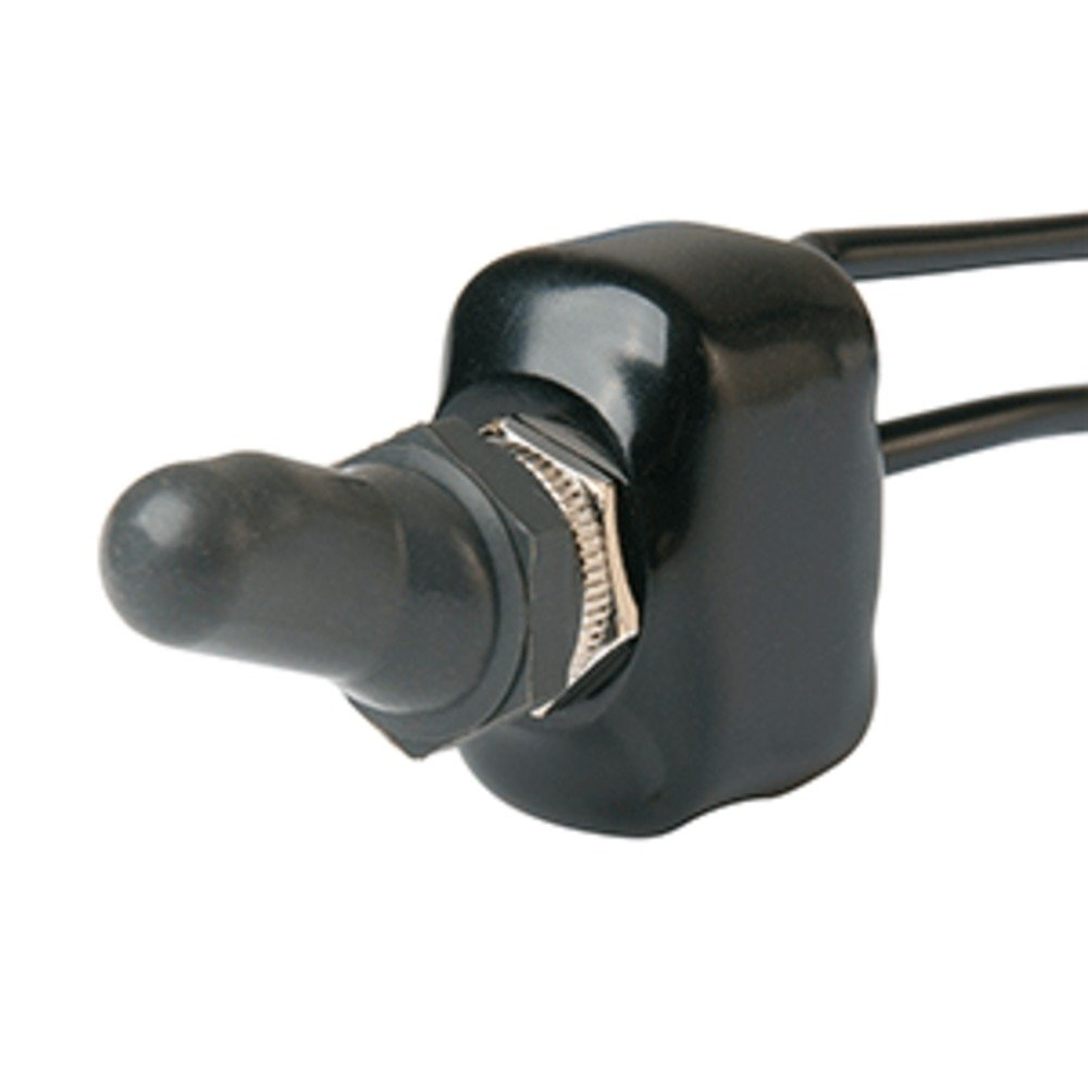 BEP SPST Water-Resistant Off/On Chrome Plated Toggles