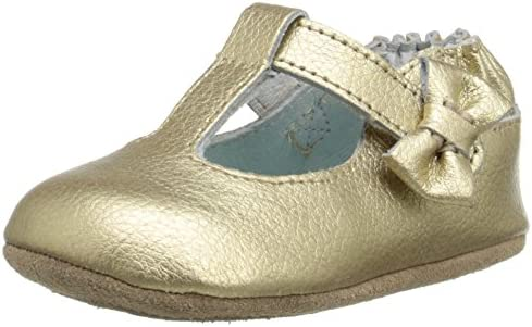Robeez Glamour Grace Mini Shoe Infant Gold 12 18 Months M Us Infant Buy Online At Best Price In Uae Amazon Ae