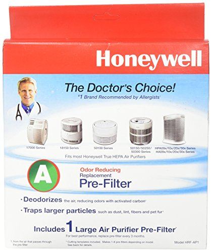 Honeywell HRF-AP1 Universal Carbon Pre Filter For Sale