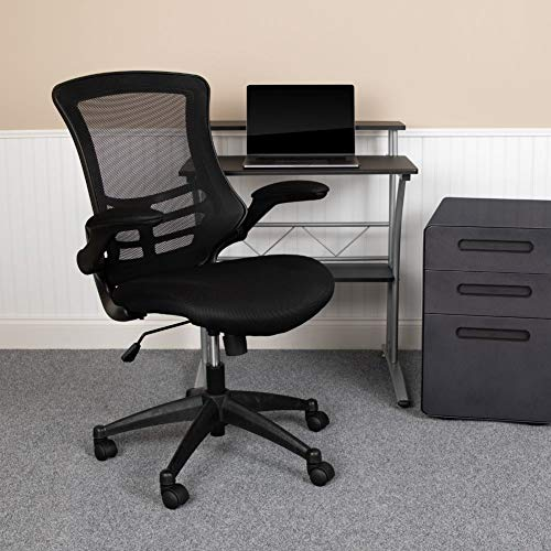 Flash Furniture Mid-Back Black