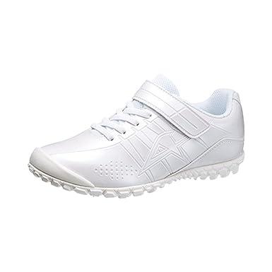 Amazon.co.jp: 通学靴 人気 学生シューズ 白 小学生用 中学生用 白