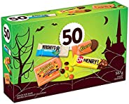 HERSHEY'S Assorted Chocolate Halloween Candy, 567 G