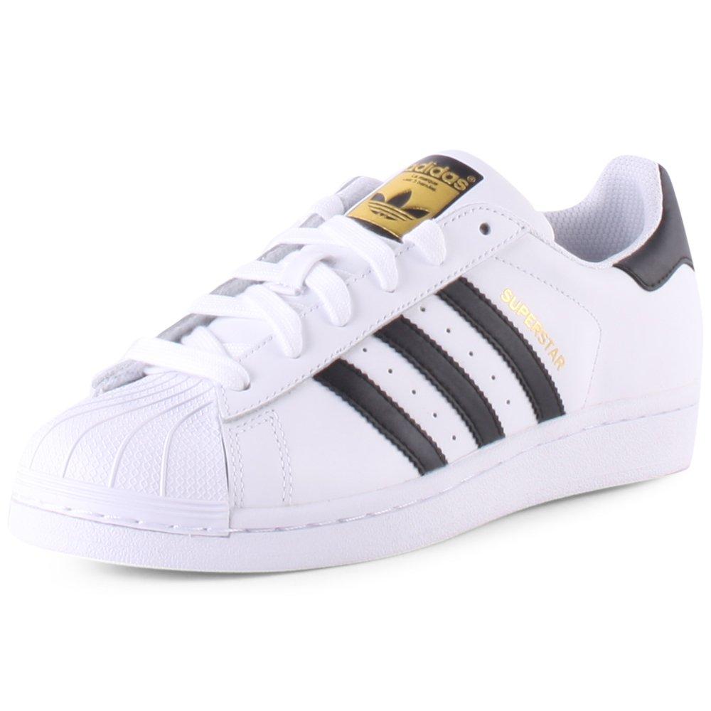 premium selection 797fa 4d73b Amazon.com | adidas White Superstar J (C77154) 37 1/3 ...