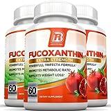 BRI Nutrition Fucoxanthin - Maximum Strength Extract Plus Supplement - 60 Capsules 3-Pack