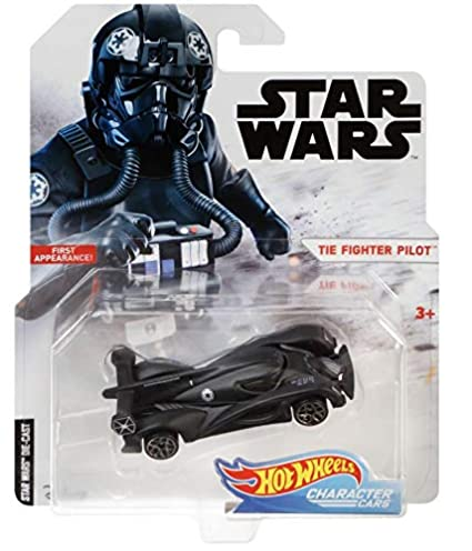 Amazon.com: Hot Wheels star wars Fighter Pilot vehículo ...