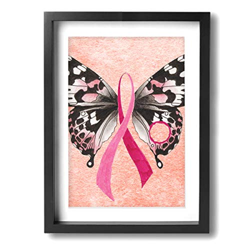 Arnold Glenn Butterfly Breast Cancer Awareness -Photo Paintings 12