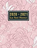 2020-2021 Two Year Planner: 2 year calendar
