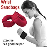 2Pcs Weight Straps For Wrist Or Ankle Fully Adjustable Sandbags Workout