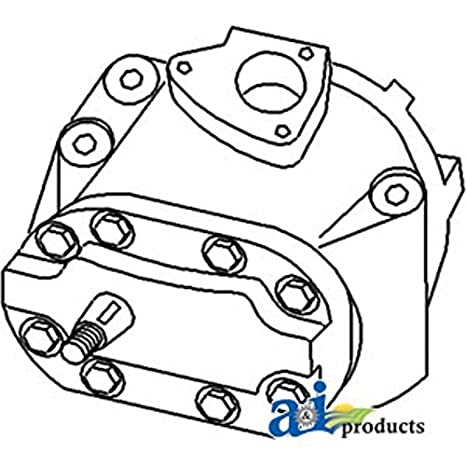 Amazon Com 3790722m1 Hydraulic Pump Main Fits Massey Ferguson 2640