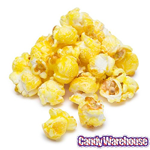 Yellow Candy Coated Popcorn Buffet Table Decor - Banana 1 Gallon Bag ()