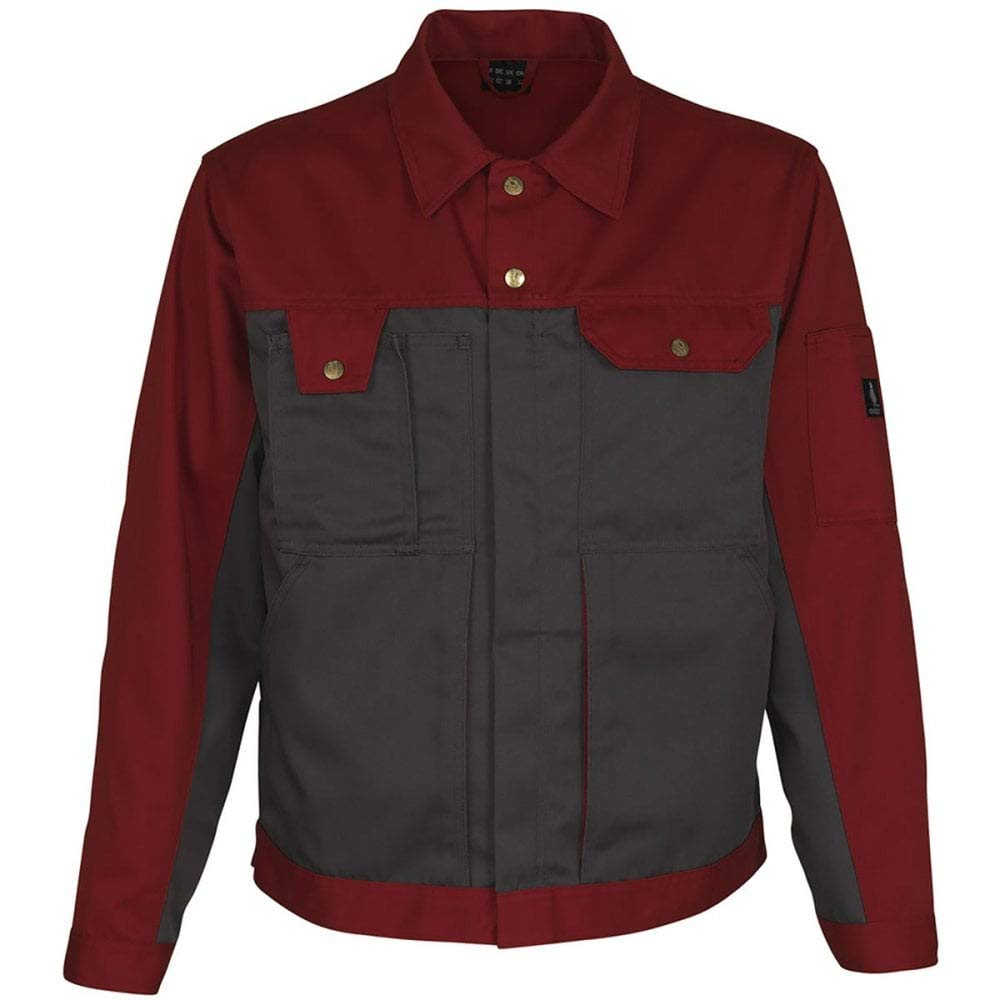 Anthracite//Red C52 Mascot 00909-430-88802-C52Como Work Jacket