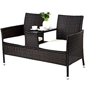 516l3T8-jRL._SS300_ Wicker Benches & Rattan Benches
