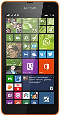 Microsoft Lumia 535 - Smartphone Libre Windows Phone (Pantalla 5 ...