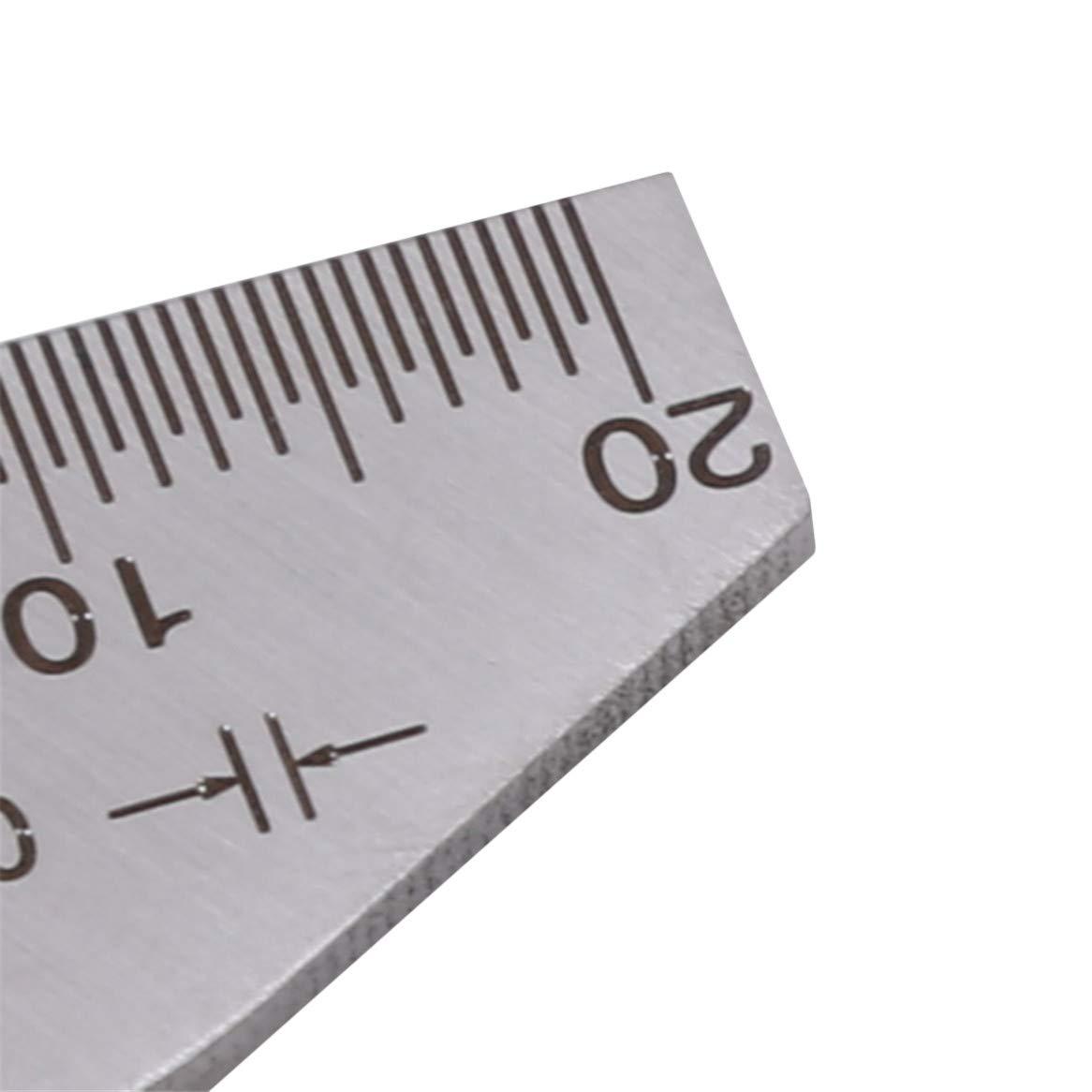 Botreelife 118 Grad Spiralbohrer Winkelmesser Schleifmittel Gauge Sch/ärfen Werkzeuge Edelstahl Ecke Vorderkante Messwerkzeuge