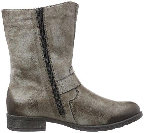 Remonte DorndorfD2273 - botas de caño bajo Mujer Gris - Grau (cigar / 25)