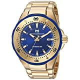 Technomarine Men's 'Manta' Automatic Stainless Steel Casual Watch, Color:Gold-Toned (Model: TM-215096)