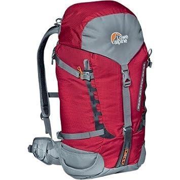 Lowe Alpine Rucksack Peak Attack - Mochila de senderismo, color rojo, talla 35 + 10 l: Amazon.es: Deportes y aire libre