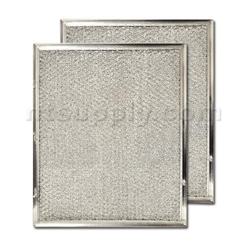 "Aluminum Range Hood Filter - 8 3/4"" x 10 1/2"" x 3/32"""