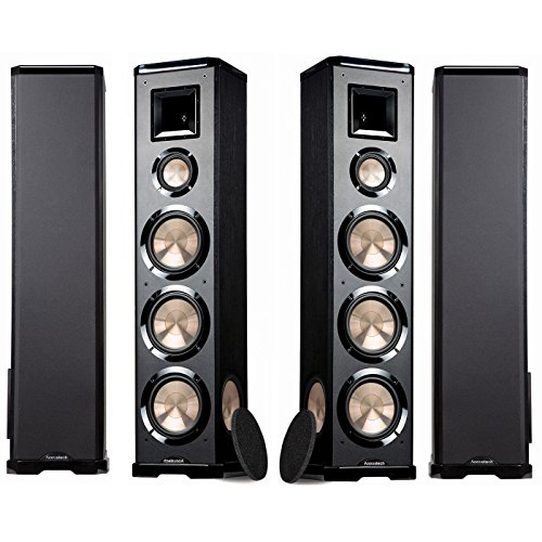 BIC Acoustech PL-980L-PL-980R 3-way Floor Speakers - ONE PAIR