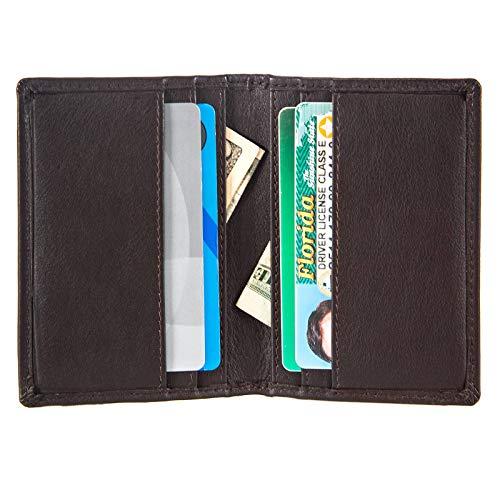 (RFID Slim Bifold Wallet Card Holder - Minimalist Front Pocket Wallet for Men)