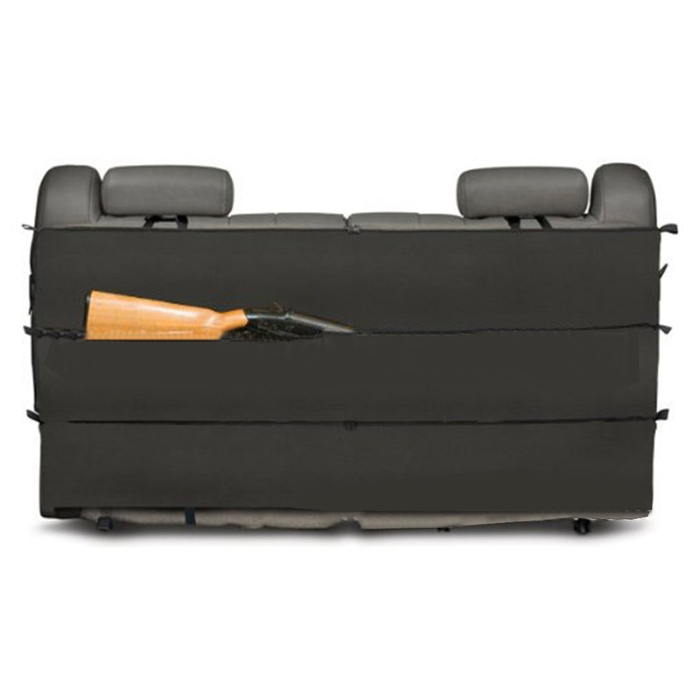 Hunting Sling Bags Black Camo Rifle Gun Rack case Organizer for Most SUV Trucks car Back Seat Vehicle Gun Storage by SUNRIS