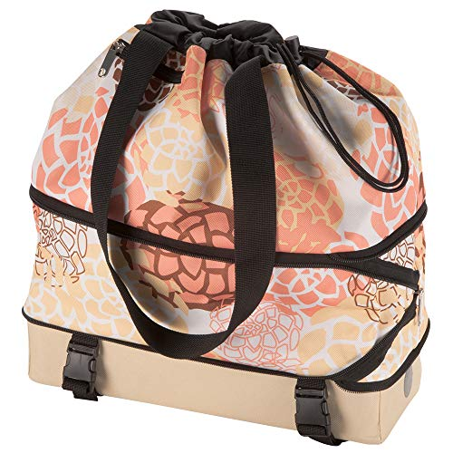Rear Rack Bag - Huffy 00580XX Expandable Rear Rack Bag, Yellow/Coral