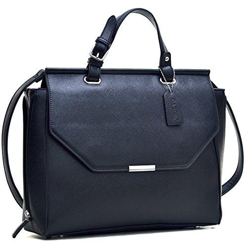 Dasein Colorblock Designer Shoulder Briefcase product image