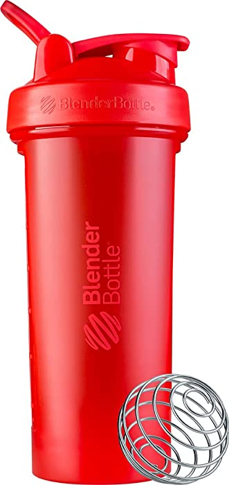 BlenderBottle C03599 Classic V2 Shaker Bottle, 28-Ounce, Red