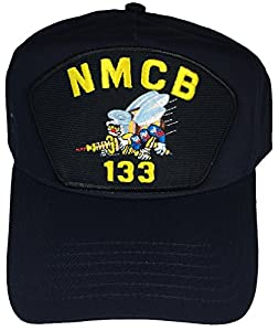 NMCB 133 HAT - NAVY BLUE - Veteran Owned Business