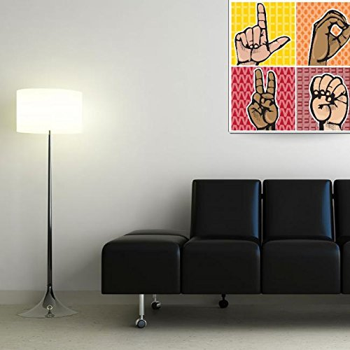 Wall Art Print entitled Love by Tate Krupa   36 x 36