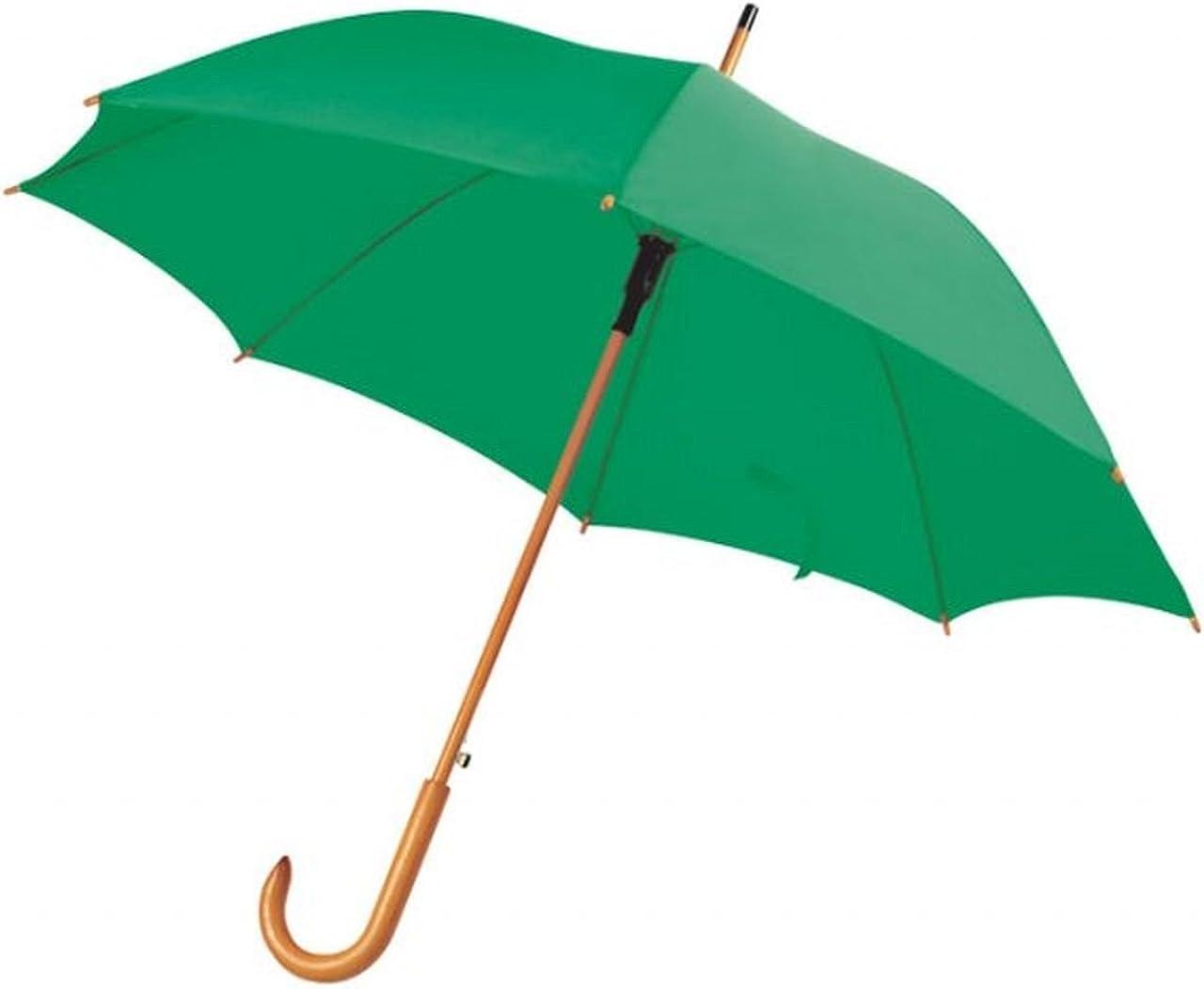 Ten Parapluie Vert avec Manche en Bois Automatique cod.EL21017 cm 89h diam.105 by Varotto /& Co.