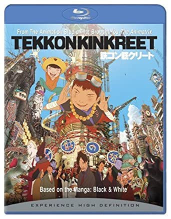 Tekkon Kinkreet, based of a manga of the same name by Taiyo Matsumoto,  tells the story of two orphaned brothers, Black and White, who deal with  the Yakuza's ...