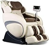 OS-4000 Zero Gravity Heated Reclining Massage Chair - Cream Color...