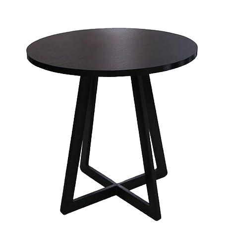 Amazon.com: AIDELAI Mesa plegable – Mesa de café negra, mesa ...