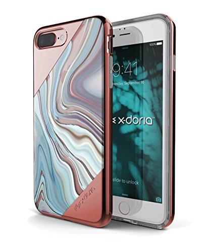 X-Doria Etui pour iPhone 7 Plus Remous d'or rose