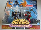 Exclusive Transformers Prime Beast Hunters Predacons Rising Two Pack Night Shadow Bumblebee Vs Blight