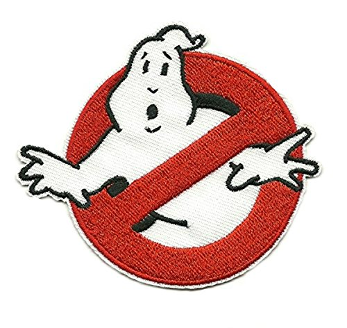 [Ghostbusters Movie Logo 4 Embroidered Patch (Can Be Ironed Or Sewn On) (with Free Gift Bag) by] (Ghostbuster Costume Backpack)