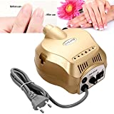 nail drill 220v - Dtemple Professional 35000RPM Electric Nail Drill Machine, Manicure Acrylic Nail Drill Machine Tool Pedicure Electric File Kit Set for Acrylic Nail (US STOCK)