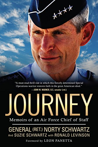 Journey: Memoirs of an Air Force Chief of Staff cover