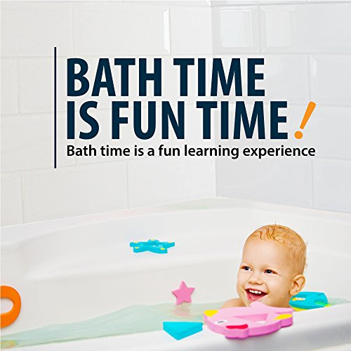 Educational Bath Toys Boys Girls - Early Learning Bath Toys - Foam Bath Toys Puzzles Animals - Fun Floating Educational Toys For Toddlers Kids - Bathtub Storage Mesh Bag-Fishing Rod Puzzle and Animal by BABY LOOVI (Image #6)