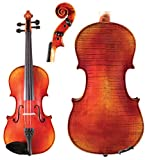 Johannes Kohr K515of, 4/4 Intermediate Violin Outfit Flamed Maple Back & Sides, Select Spruce Top, Ebony Fittings, Dominant Strings, Case & Bow
