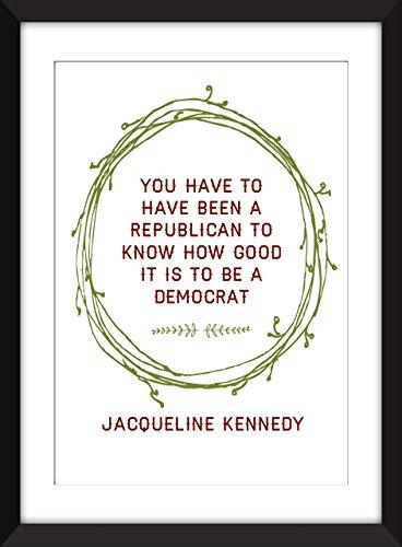 Unframed Jackie Kennedy