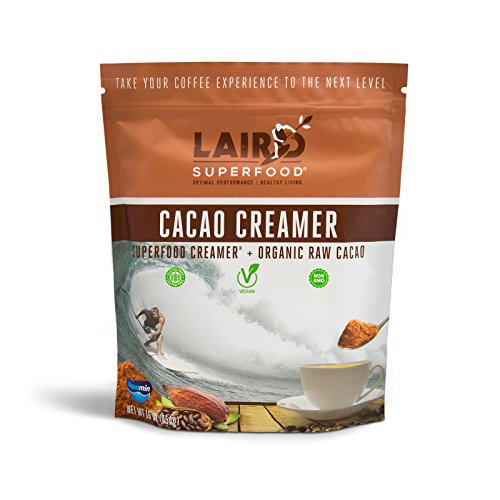 Laird Superfood Cacao Coffee Creamer | Dairy & Gluten Free, Vegan, Soy Free, Non-GMO - 1 lb