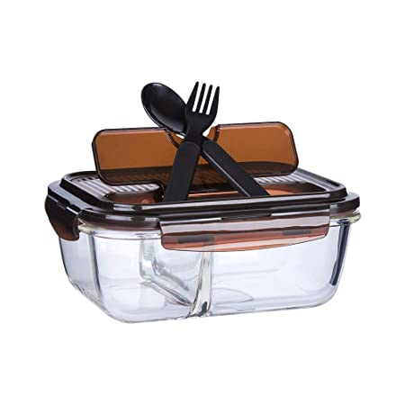 ZHQHYQHHX Bento Box Box Lunch Box Lunch;Resistente al Calor ...