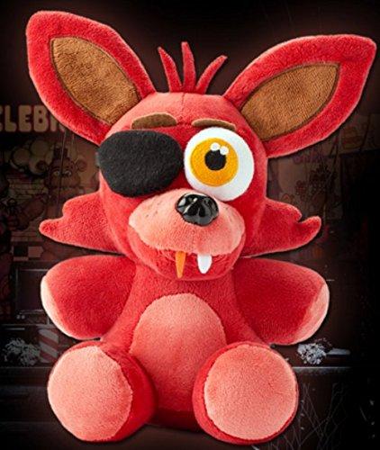 amazon com lusy shop foxy plush fnaf freddy five nights cute red
