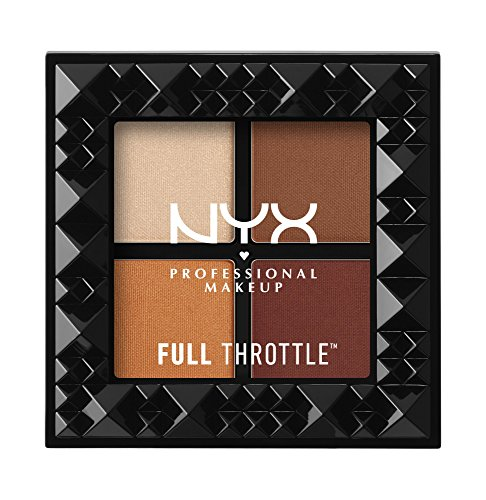 NYX PROFESSIONAL MAKEUP Full Throttle Shadow Palette, Color Riot, 0.21 Ounce