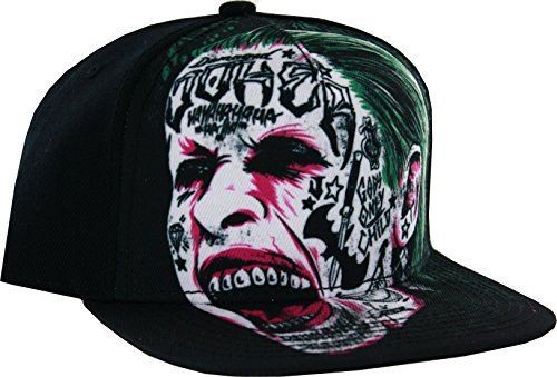 Suicide Squad Joker Tatted Snapback Hat]()