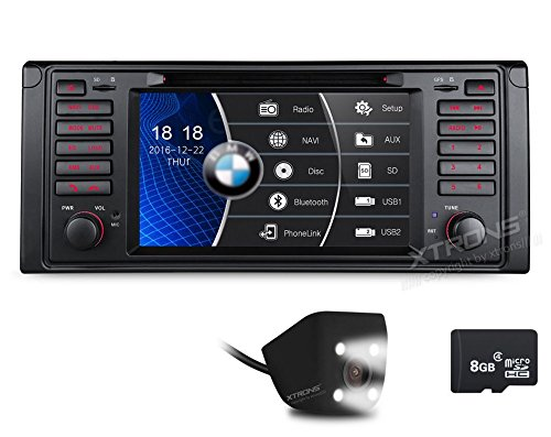 XTRONS 7 Inch HD Digital Touch Screen Car Stereo Radio In-Dash DVD Player with GPS Navigation CANbus for BMW 5 Series X5 Reversing Camera Included by XTRONS (Image #9)