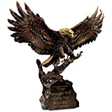 Your Strength Will Carry You Anywhere Cold-Cast Bronze Eagle Sculpture by The Bradford Exchange