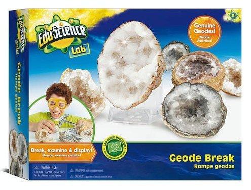 Edu Science Lab Geode Break Science Kit